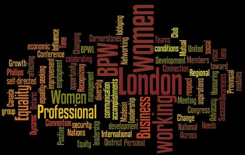 business and professional women london