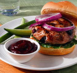 BlueberryTurkeyBurger
